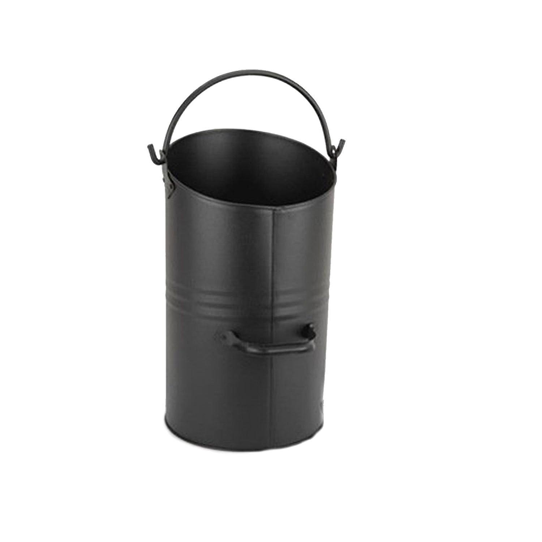 Harewood Ellipse Black Coal Hod COAL13 Inglenook
