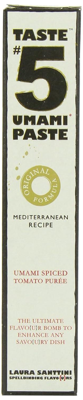 Laura Santtini Taste Number 5 Umami Paste Original (Pack of 12): Amazon.es: Alimentación y bebidas