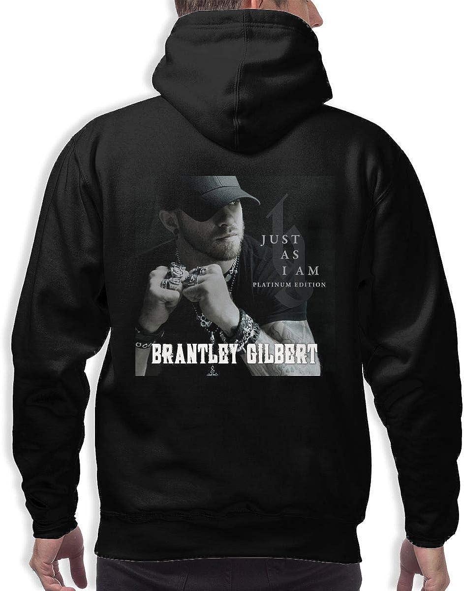 Brantley Gilbert Stylish 3D Printed Hip Hop Pullover Man Hooded Sweatshirt