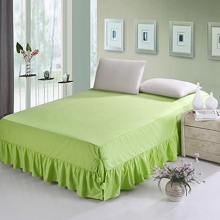 GX&XD - Falda antideslizante para cama (100% algodón): Amazon.es ...