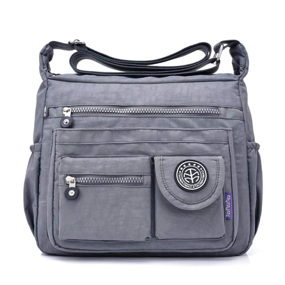 Casual Waterproof Nylon Shoulder Messenger Bag