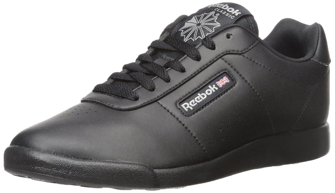 Reebok Women's Princess Lite Classic Shoe, Black, 7 M US