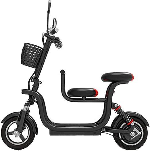 JH Bicicleta eléctrica, Plegable Bicicletas 400W Motor con batería ...