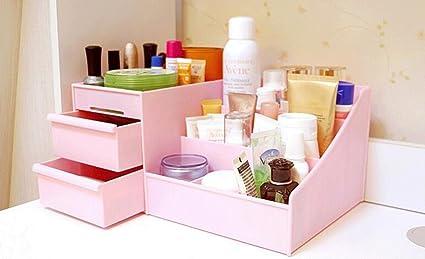 FLH Home cajón de escritorio cosméticos caja de almacenamiento cajas de almacenamiento (Color : C