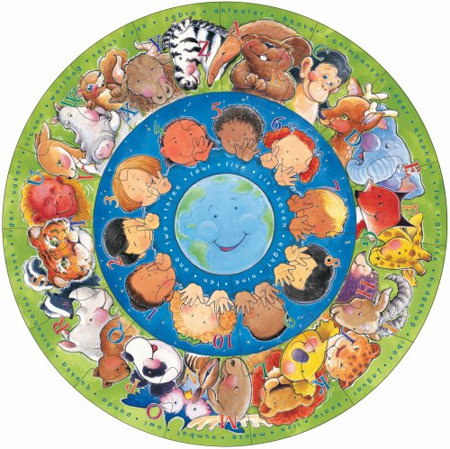 Circle of Friends Larger Floor Puzzle