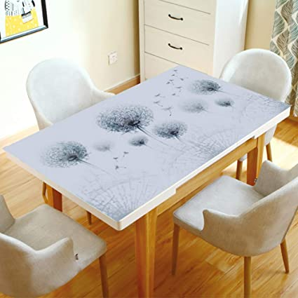 Amazon.ca & Crystal Clear PVC Tablecloths Oil-Proof Soft Glass Table ...