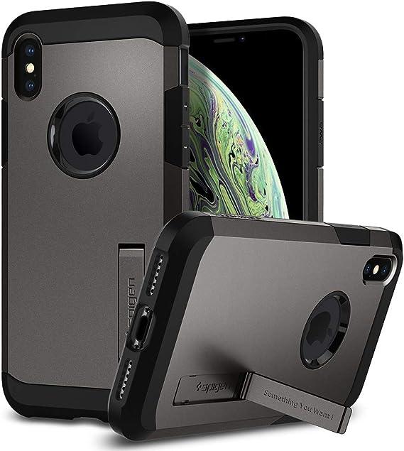 Spigen Tough Armor Hülle Kompatibel Mit Iphone Xs Und Elektronik