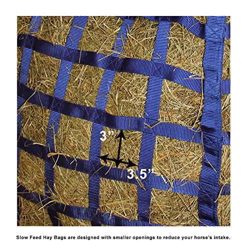 Derby Originals Patented Easy Feed Four Sided Hay Bag with One Year Limited Manufacturer Warranty by Derby Originals (Image #3)