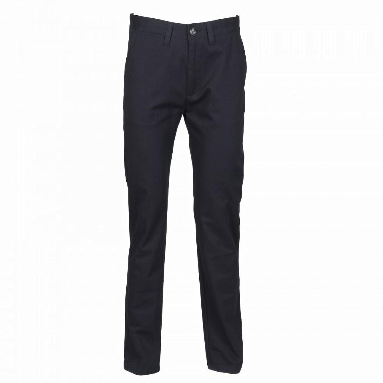 Henbury Womens/Ladies 65/35 Flat Fronted Slim Fit Chino Work Trousers