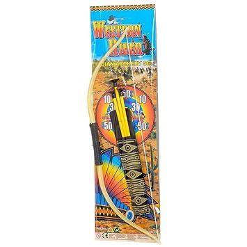 Western Rider Indian Archery Bow and Arrow Set (accesorio de ...