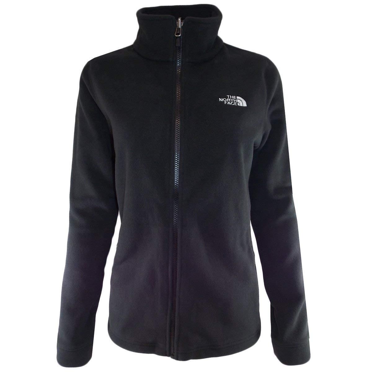 68d4c93312e The North Face Women's Black 300 Tundra Full-Zip Fleece Jacket at Amazon  Women's Coats Shop