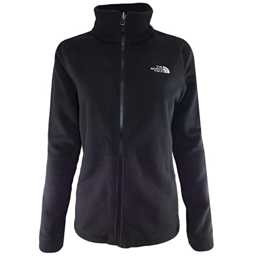 111ee9c81 The North Face Women's Black 300 Tundra Full-Zip Fleece Jacket at ...