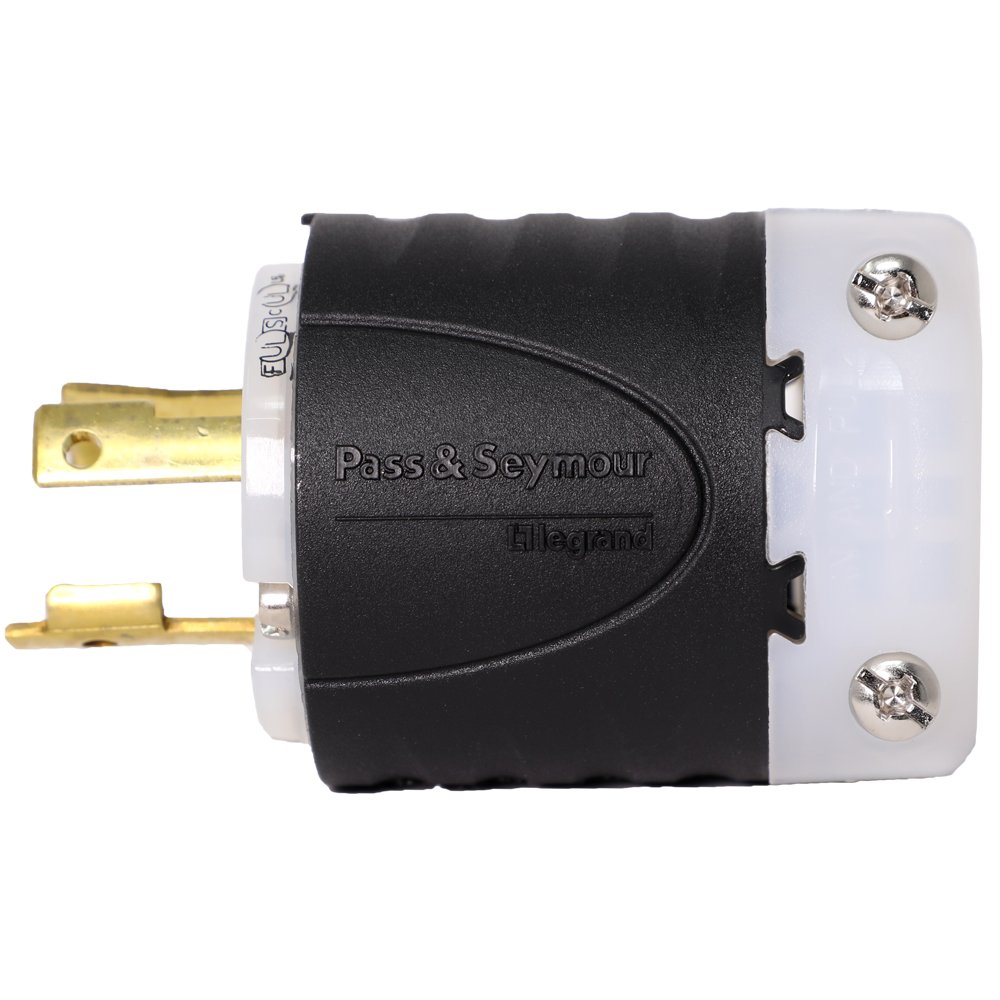 L5 30p Plug Nema Locking 30 Amps 125v Electric Plugs Blade To 4flat Socket Trailer Wiring Adapter Gempler39s
