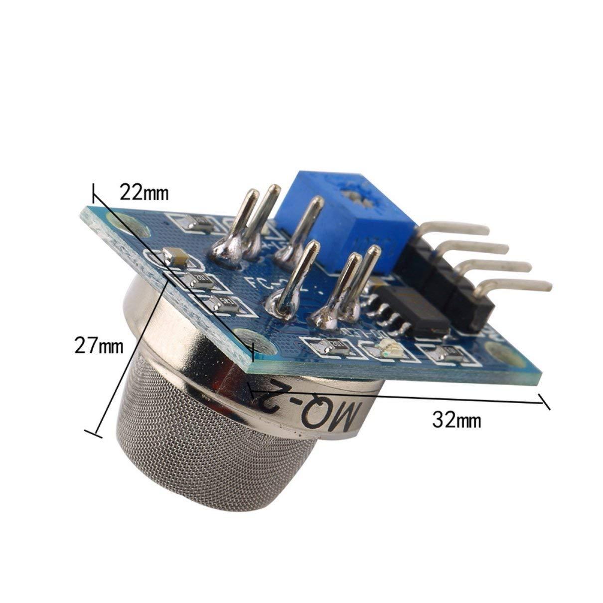 SaraHew74 Fit mq-2 MQ2 Gas di Fumo GPL Butano Idrogeno Gas Sensor Detector Module per Arduino Miscela Home Rilevazione di perdite di Gas di Fabbrica