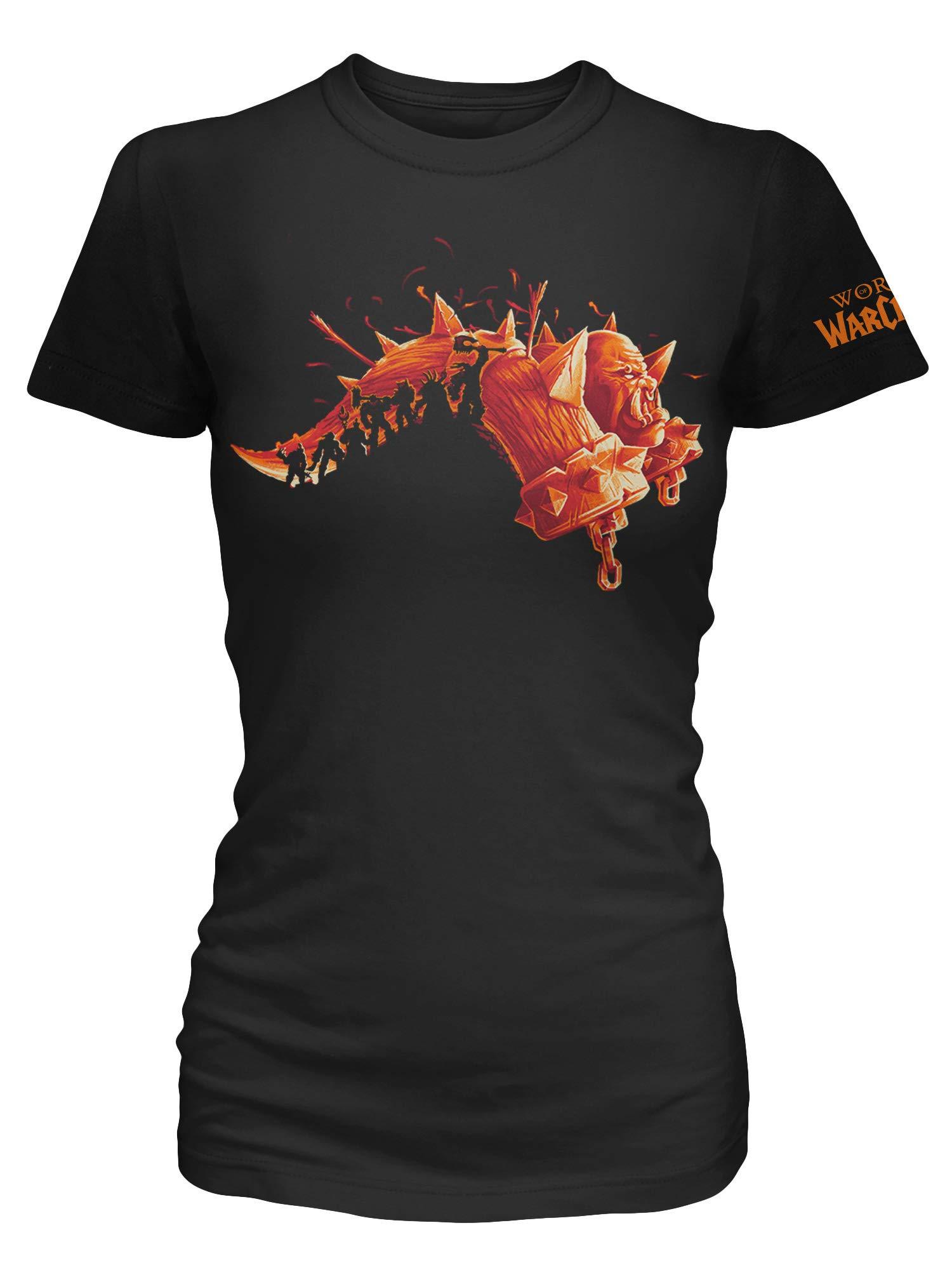 JINX World of Warcraft Warlords of Draenor (Expansion Series) Women's Gamer Tee Shirt