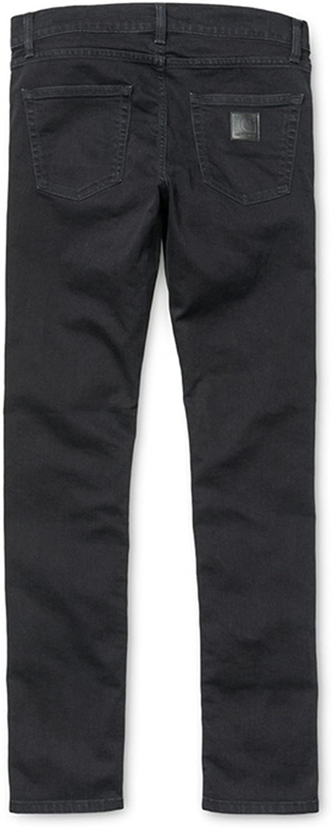 Carhartt WIP-Rebel Pant /'Towner/' Black//Black Stretch Denim.. Black Stone Wash