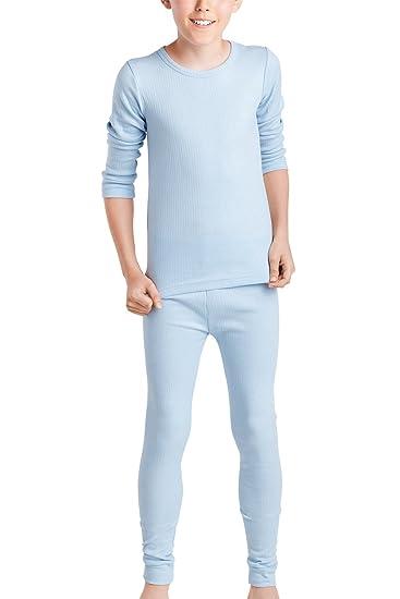 new styles d8be6 af041 MT® Thermo Unterwäsche Set (Hemd + Hose) für Mädchen und Jungen - warm,  weich und atmungsaktiv