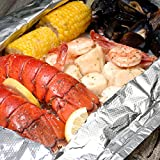 This is the ultimate lobster bake! Two lobster tails, a dozen mussels, eight shrimp, eight sea scallops and two ears of corn are all drenched in an herbed lemon butter sauce. This award-winning combination is packaged in a large foil bag that can be ...