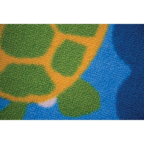 flair rugs matrix kiddy under the sea childrens rug blue 100 x 160 cm buy online in uae. Black Bedroom Furniture Sets. Home Design Ideas