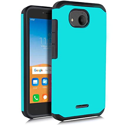 Telegaming for Alcatel Tetra Case with Tempered Glass Screen
