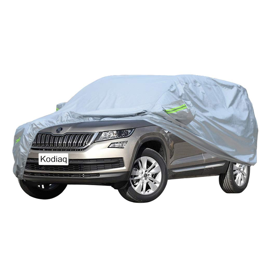 SXET-Car cover Car Cover Oxford Cloth Windshield Cover Skoda Kodiaq Special Car Cover UV Protection Waterproof Scratch