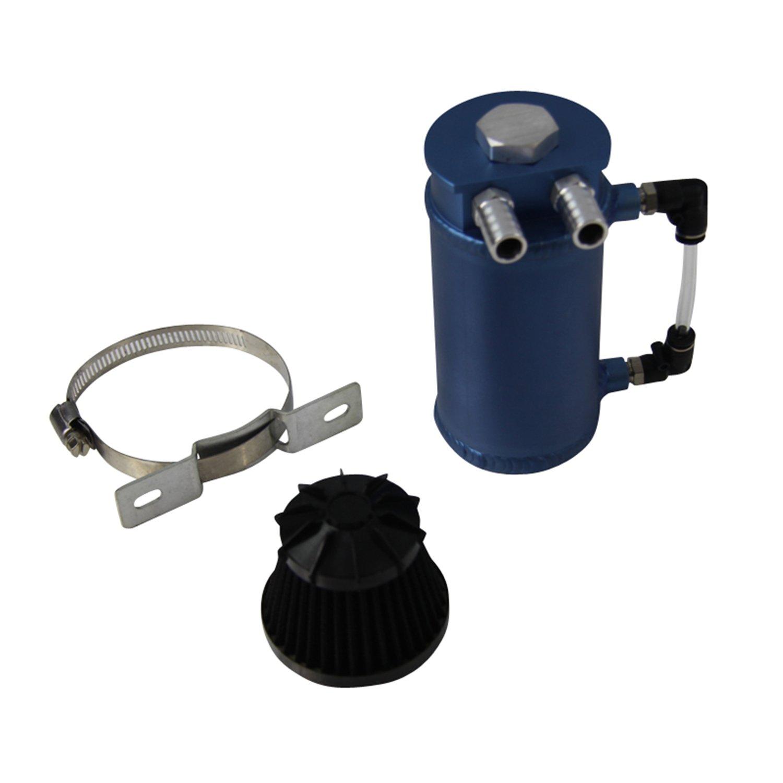 ALLOYWORKS Pro Aluminum Oil Reservoir Catch Can Tank W/ Breather Filter Baffled by ALLOYWORKS (Image #3)