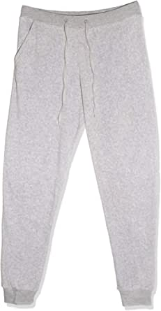 Straight Style Trousers for Women, Size M, Grey