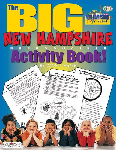 Read Online The Big New Hampshire Reproducible Activity Book (The New Hampshire Experience) ebook