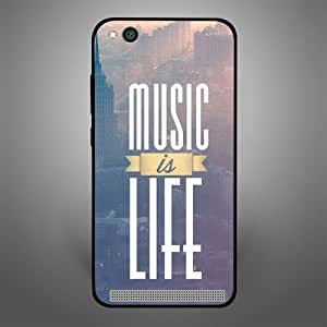 Xiaomi Redmi 5A Music is Life, Zoot Designer Phone Covers