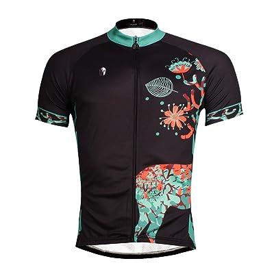Maillot de cyclisme VTT Vélo,maillot de velo,Maillot, maillot cyclisme Manches Courtes Men's Cycling Jerseys