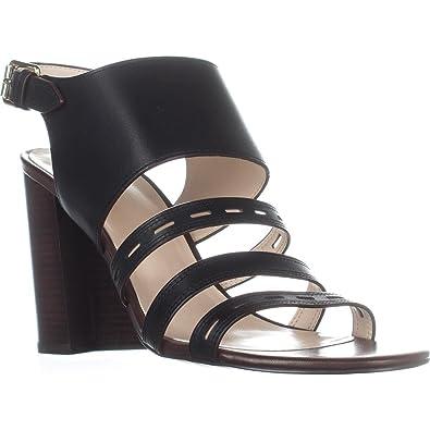 47bb69b02d76 Cole Haan Lavelle Block-Heel Sandals Black Leather 5M