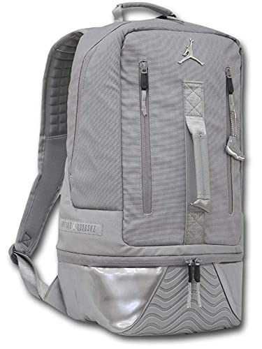 b6047514ff0f (Jordan)ジョーダン Retro XI 11 Backpack リュックサック (灰メタリックシルバー) [並行