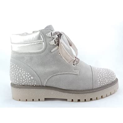 5d66ea449025 MARCO TOZZI 2/26273/39 Monte Taupe Suede Lace-Up Ankle Boot: Amazon.co.uk:  Shoes & Bags