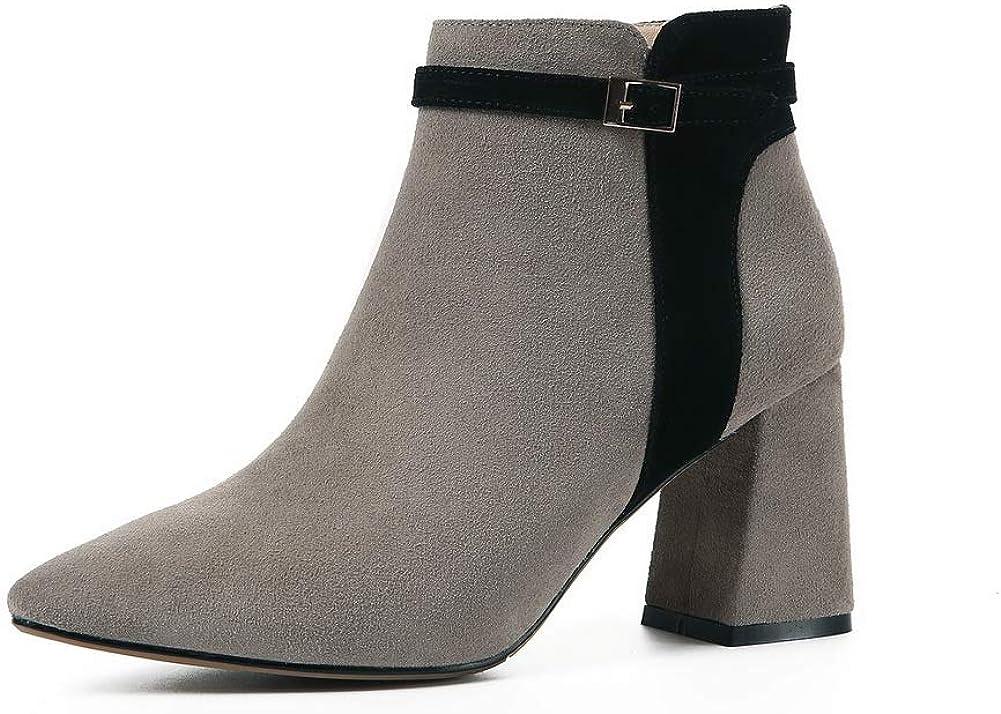AN Womens Dance-Ballroom High-Heel Solid Urethane Boots DKV02999