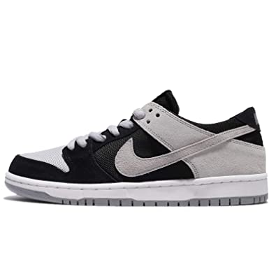 0d1ea6708b99 Nike SB Zoom Dunk Low PRO Mens Skateboarding-Shoes 854866-001 4 -  Black Wolf Grey-White-White  Buy Online at Low Prices in India - Amazon.in