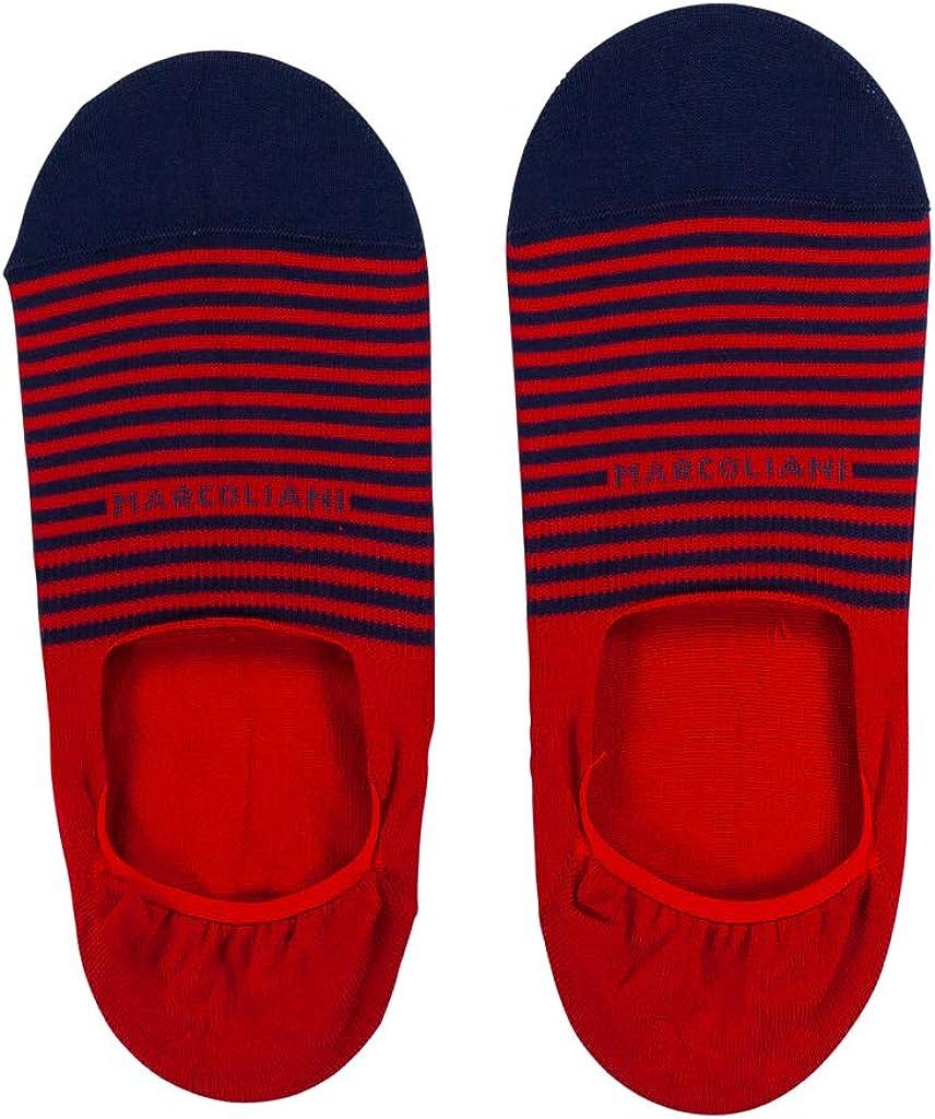 Marcoliani Milano Invisible Touch Stripe Pima Cotton Original