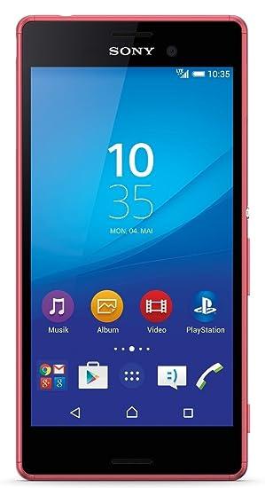 Sony Xperia M4 Aqua Smartphone Débloqué Corail (import Allemagne ...
