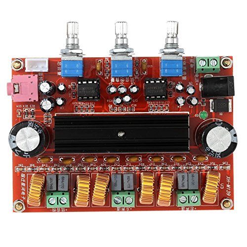 2.1 Channel TPA3116D2 Digital Amplifier Board, 2 50W +100W S