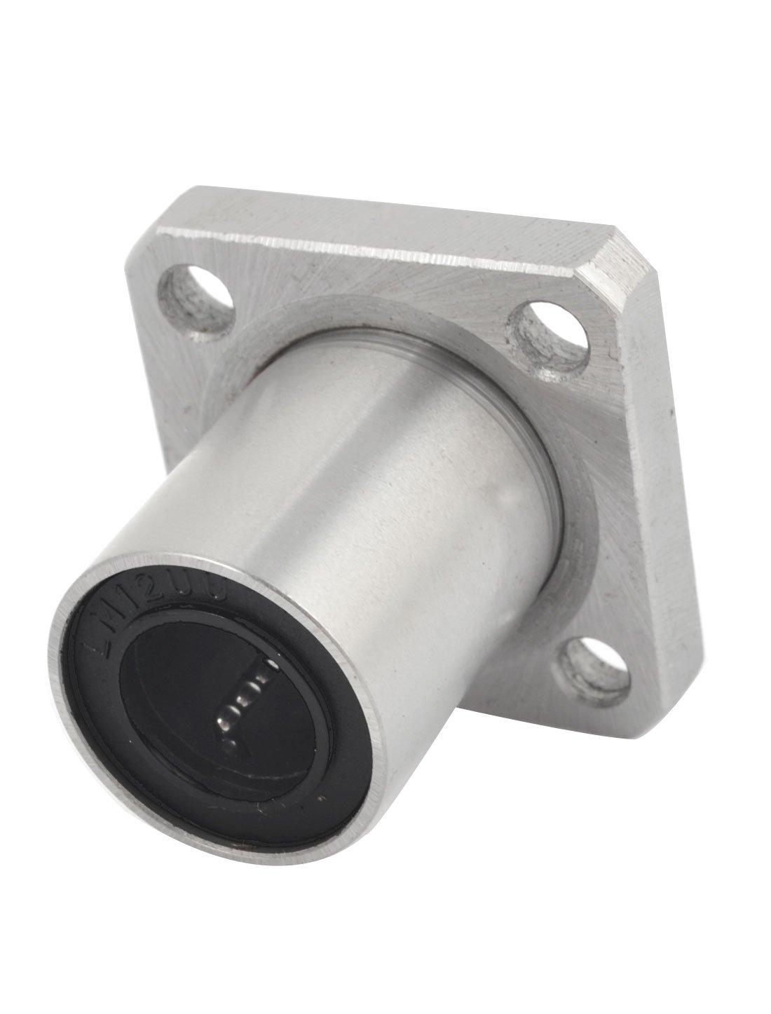 8mm Inner Diameter Square Flange Linear Motion Bushing Ball Bearing LMK8UU LW