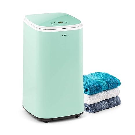 KLARSTEIN Zap Dry Secadora, 820 W, Capacidad: 50 L, diseño UniqueDry, más compacta, Tambor de Acero Inoxidable, Carcasa de plástico, Controles ...