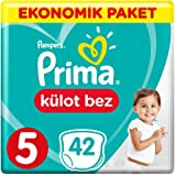 Prima Külot Bebek Bezi, 5 Beden, 42 Adet, Junior Ekonomik Paket