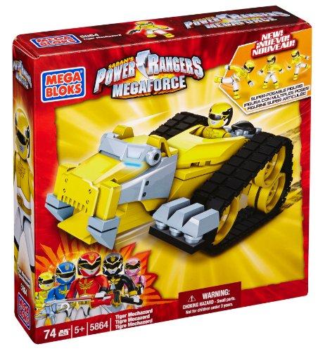 Mega Bloks Power Rangers Megaforce - Tiger Mechazord ()