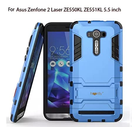 online retailer 80a58 01c68 Heartly Graphic Kickstand Hard Dual Rugged Armor Hybrid Bumper Back Case  Cover for Asus Zenfone 2 Laser Ze550Kl Ze551Kl 5.5