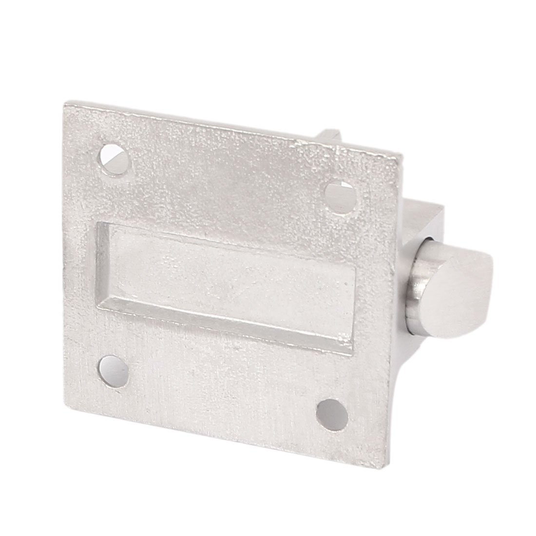 uxcell Door Gate Spring Loaded Stainless Steel Automatic Barrel Bolt Latch Silver Tone SYNCTEA010842