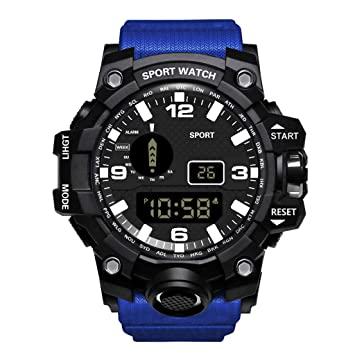 Amazon.com: Deesee (TM) HONHX - Reloj digital LED para ...