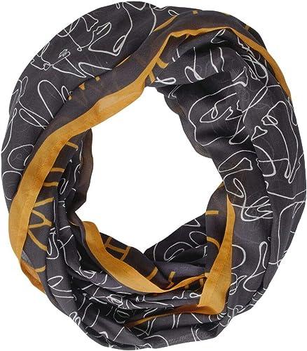 STREET ONE Damen 571264 Patchwork Mode-Schal