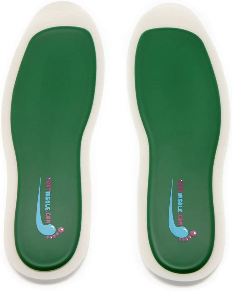footinsole Best Shoe Inserts Soft Silicone Sports Insoles for Massage (S (6~8 US Women's))
