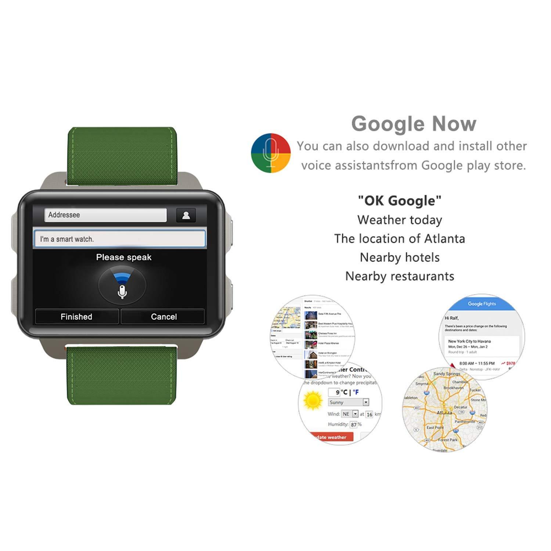 Smart Watch Pantalla OLED de 2,2 Pulgadas, NFC Pagos, Google ...