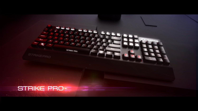 Ozone Strike Pro Gaming - Teclado, Negro -Teclado QWERTZ Alemán: Amazon.es: Informática