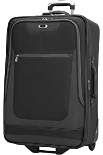 7d56c6b5a Skyway Luggage Epic 25 Inch 2 Wheel Expandable Upright, Black